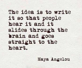 Om orden och hjärtat
