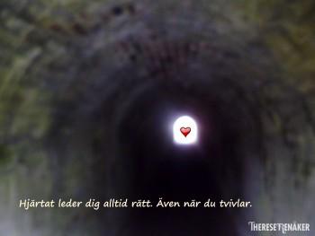 Hjärtat leder alltid rätt