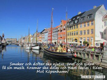 På resa till Köpenhamn