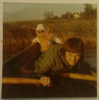 Mamma och jag för lääääänge sedan...